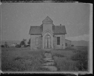 Old Ovid Meetinghouse - Ovid, ID