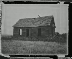 Abandoned Farmhouse - Scanned Negative