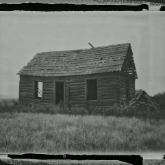 Abandoned Farmhouse - Scanned Negative