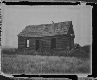 Abandoned Farmhouse - Bancroft, ID