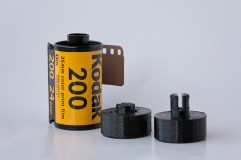 Pinhole Printed 35mm Film Adapters