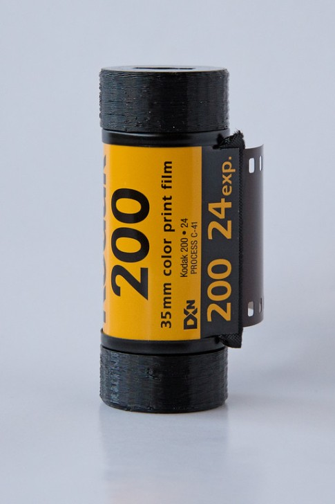 Pinhole Printed 35mm Film Adapters