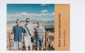 Family at Bryce Canyon National Park on Fujifilm Instax Mini