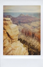 North Rim of the Grand Canyon on Fujifilm Instax Mini