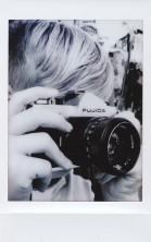 Connor with the Fujica on Fujifilm Instax Mini