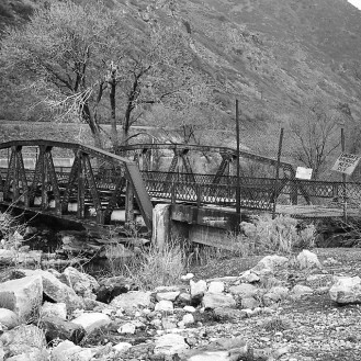 Old Hightway Bridge, Weber Canyon, Utah, USA