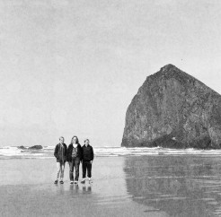 April 1, 2015 - Family at Haystack Rock, Oregon