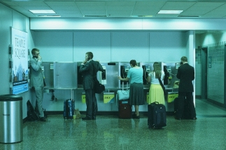 Missionary Last Phone Calls, Salt Lake City International Airport, Utah