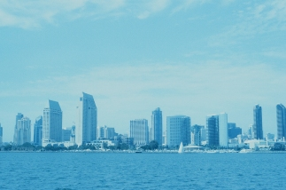 San Diego Skyline, California