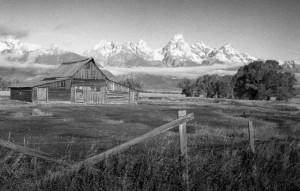 Barn at Mormon Row - Antelope Flats, Wyoming