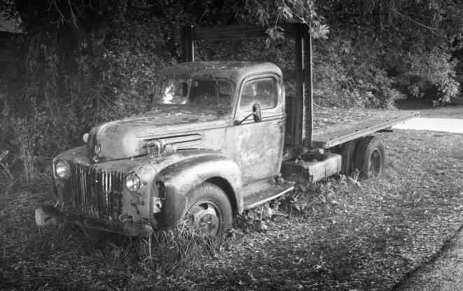 Abandoned Farm Truck in Eden, Utah