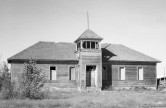 Abandoned Schoolhouse in Rexburg, Idaho