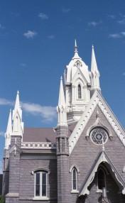 Assembly Hall at Temple Square - Salt Lake City, Utah