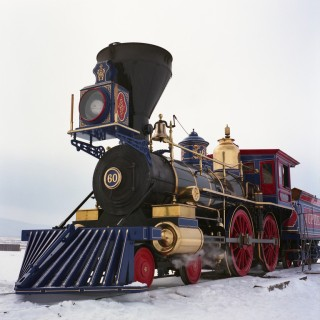 Golden Spike National Historic Site - Winter Steam Festival