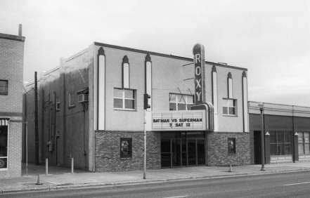 Roxy Theater in St Anthony, Idaho