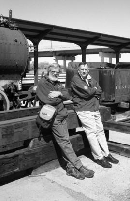 Old Farts, Old Trains, and Old Cameras - Union Station, Ogden, Utah
