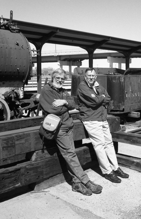Old Farts, Old Trains, and Old Cameras - Union Station, Ogden, Utah