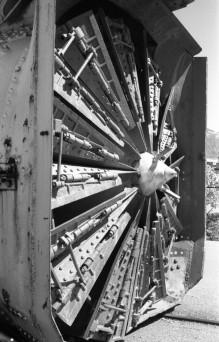 Steam Powered Rotary Snow Plow - Union Station, Ogden, Utah