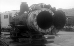 D&RGW 223 Steam Engine Boiler - Union Station, Ogden, Utah