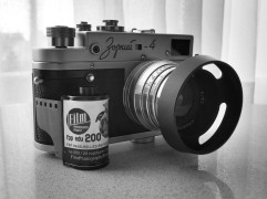 Zorki 4 (1963) with FPP Edu 200 BW Film