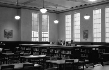 Ogden High School Library - Ogden, Utah