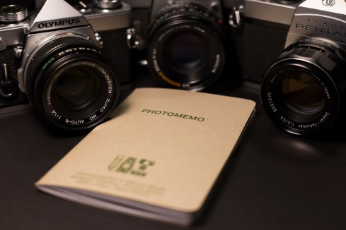 ShootFilmCo.com - PhotoMemo Photographer's Memo Book