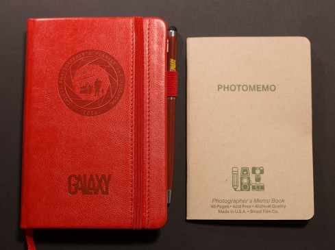 Galaxy Photographer's Planner & Handbook Vs PhotoMemo Photographer's Memo Book