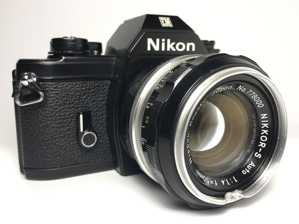 Nikon EM (1979 - 1982) with Nikkor-S 50mm 1.4