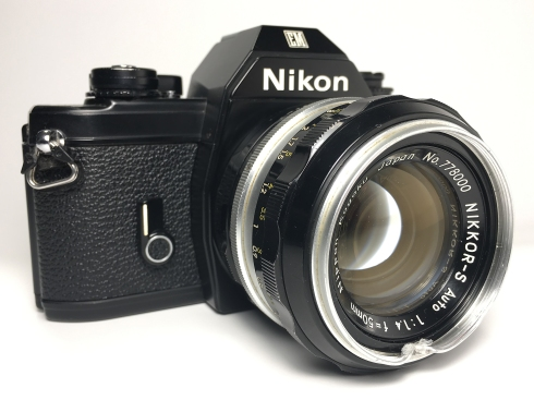 Nikon EM (1979 - 1982) with Nikkor-S 50mm 1.4