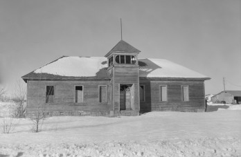 Abandoned Schoolhouse - Rexburg, ID