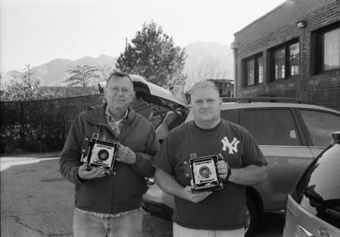 Maurice & Shaun - Photo by Charles Trentelman