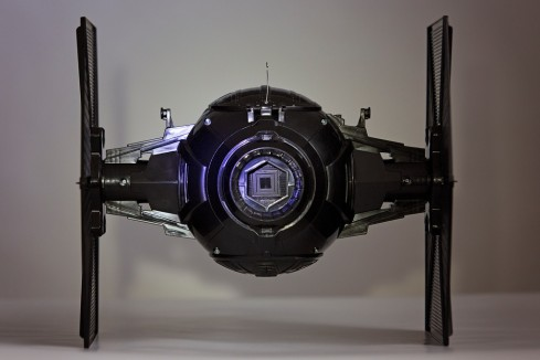 Star Wars - The Force Awakens - First Order Special Forces Tie Fighter Pinhole Camera - Shutter Open