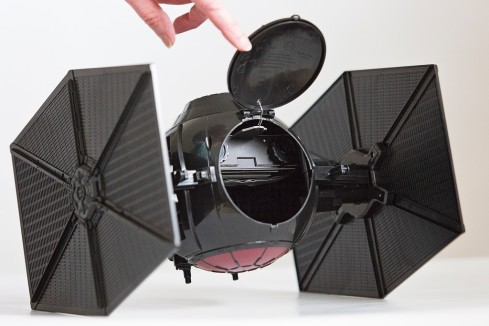 Star Wars - The Force Awakens - First Order Special Forces Tie Fighter Pinhole Camera - Top Hatch