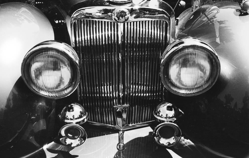 Evanston Car Show, Evanston, Wyoming.