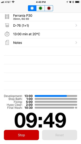 Massive Dev Chart App - P30 Developing Time