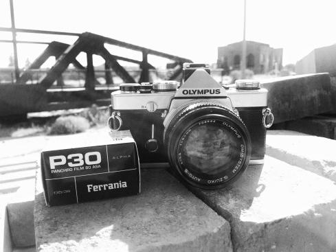 Olympus OM-1N MD (1979) & Ferrania P30 Alpha