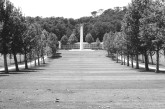 Florence American Cemetery and Memorial, Italy. Camera: Pentax K1000 (1976 - 1997). Film: Ilford Delta 100 Professional.