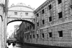 Bridge of Sighs, Venice, Italy, Camera: Pentax K1000 (1976 - 1997). Film: Ilford Delta 100 Professional.
