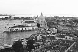 Basilica di Santa Maria della Salute, Venice, Italy. Camera: Pentax K1000 (1976 - 1997). Film: Ilford Delta 100 Professional.