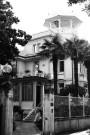 Hotel Villa delle Palme on Lido, Venice, Italy. Camera: Pentax K1000 (1976 - 1997). Film: Ilford Delta 100 Professional.