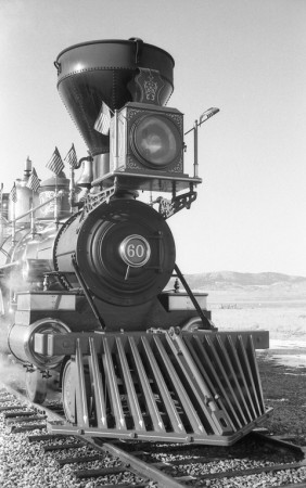 The Jupiter at Golden Spike National Historic Site - Corinne, UT. Yashica Electro 35 GS (1970 - 1973). Film: Kosmo Foto 100.