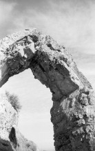 Chinese Arch - Corinne, UT. Yashica Electro 35 GS (1970 - 1973). Film: Kosmo Foto 100.