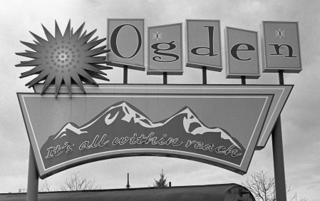 Nikon F2 Photomic (1971) - Kodak Tri-X 400 - Welcome to Ogden - Ogden, Utah