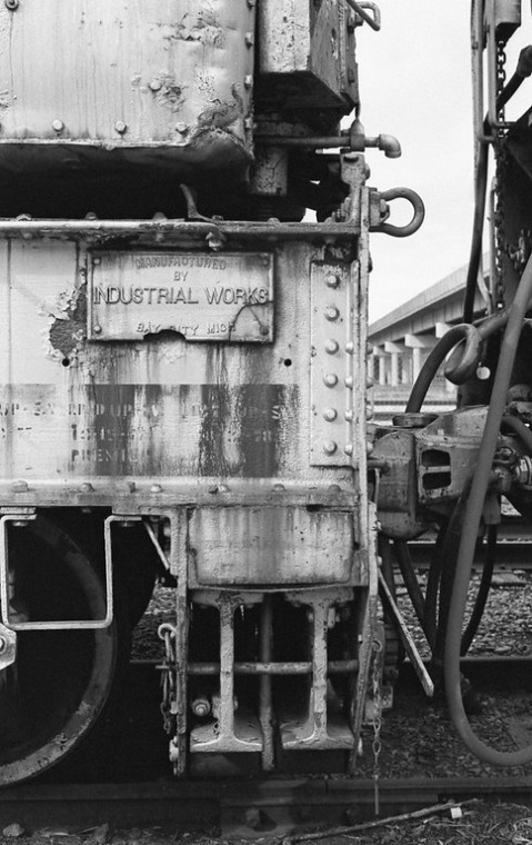 Nikon F2 Photomic (1971) - Kodak Tri-X 400 - Industrial Works Crane - Ogden Rail Center - Union Station - Ogden, Utah