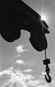 Nikon F2 Photomic (1971) - Kodak Tri-X 400 - Rail Crane - Ogden Rail Center - Union Station - Ogden, Utah