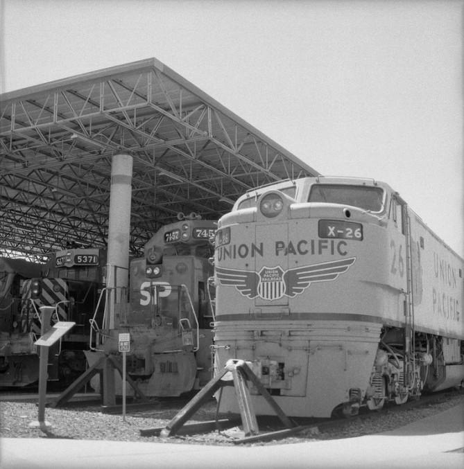 X-26 - Eccles Rail Center - Ogden, Utah