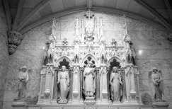 St. Patrick's Cathedral - NY (Olympus XA - Kodak TMax 100)