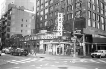 Katz's Deli - NY (Olympus XA - Kodak TMax 100)