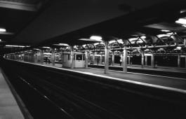 Jamaica Station - Jamaica, NY (Olympus XA - Kodak TMax 100)