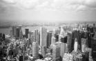 Manhattan & New Jersey - (Olympus XA - Kodak TMax 100)